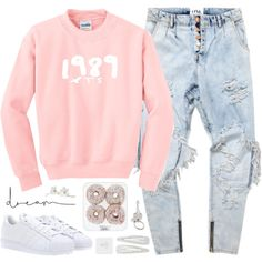 'Cause baby now we've got bad blood, you know it used to be mad love by alexandra-provenzano on Polyvore featuring mode, adidas, Forever 21, Paul Smith, Pier 1 Imports and Chanel