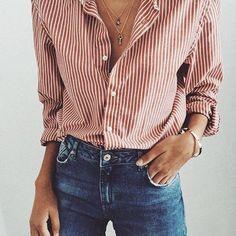 stirped shirt