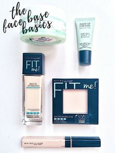 "Fase Base-ics: My Ultimate Favourites for the ""Perfect"" Base.  Blog post: http://mademoiselledena96.blogspot.com/2016/09/face-base-ics.html"