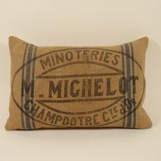 Michelot Flour Sack Pillow Cover