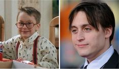 "Favorite characters ""Home Alone"" then and now Home Alone Now, Kieran Culkin, John Heard, Catherine O'hara, Macaulay Culkin, Character Home, Cult Following, Film Books"