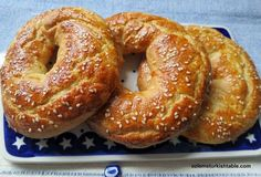 Acma; home made, Turkish style soft bagels