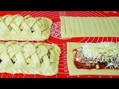НОВИНКА🔥Необычно и очень Вкусно‼КРАСИВЫЙ КУРИНЫЙ ПИРОГ ПОКОРЯЕТ СРАЗУ ‼ - YouTube Kitchen Magic, Russian Recipes, Strudel, What To Cook, Food Art, Food And Drink, Appetizers, Vegetarian, Healthy Recipes