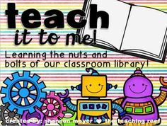 In this unit you are provided with slides that help introduce and teach your students the nuts and bolts of your classroom library. You will be receiving a unit that allows you to edit every slide so that it accurately depicts your classroom library.  So as you move through the slides in this PowerPoint you will be teaching your students everything they need to use your library successfully.