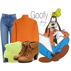 Goofy~ DisneyBound