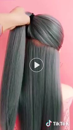 15 Cute and Easy Hairstyles Anyone With Long Hair Will Love Fast Hairstyles, Popular Hairstyles, Girl Hairstyles, Braided Hairstyles, Wedding Hairstyles, Cabelo Ombre Hair, Curly Hair Styles, Natural Hair Styles, Manicure Y Pedicure