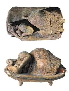 The original Sleeping Lady clay artifact, discovered at the Ħal Saflieni Hypogeum, is an honorary possession of the National Museum of Archeology, Valletta, Malta.