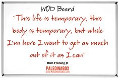 http://www.paleodietinabox.com - Motivational quote #crossfit