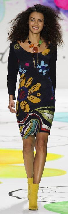 Desigual Fall 2015 ~ New York Fashion Week
