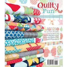 Quilty Fun by Lori Holt! Adorable quilts!