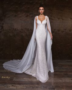 """3,129 Likes, 4 Comments - Africa's Top Wedding Website (@bellanaijaweddings) on Instagram: """"Shimmer with a flare. BN Bridal: Timeless Beauty Collection by Crystal Design More on…"""""""