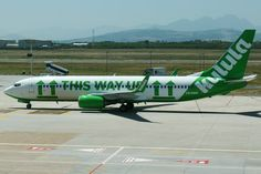 Kulula is our favorite domestic Airline, cheap, creative, funny and they dare to be different. (subsidiary of British Airways Commair)
