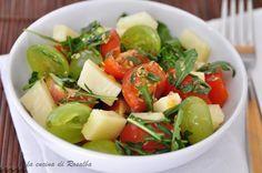 insalata di pomodoro rucola e uva | la cucina di rosalba