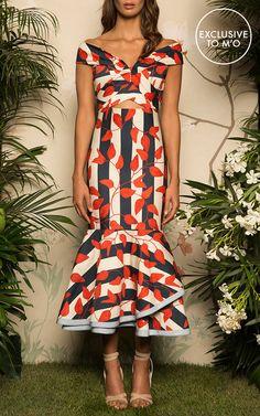 Johanna Ortiz M'O Exclusive Victoria Island Midi Dress