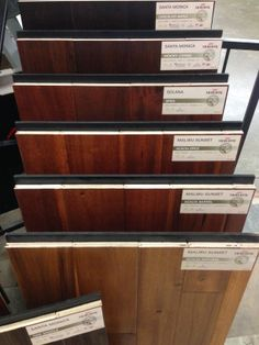 New Wood Samples from Mohawk