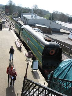 """Bluebell Railway Sheffield Park March 2014 """"Blackmore Vale"""""""