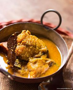 Doi Bhetki/Yogurt Fish Curry