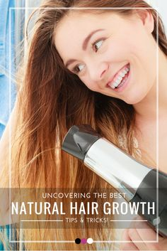Looking for the best natural hair growth tips and tricks? They're all here!