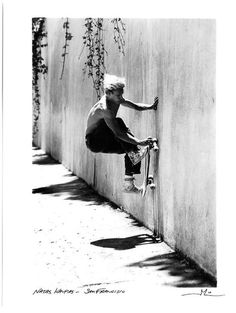 Wall ride!