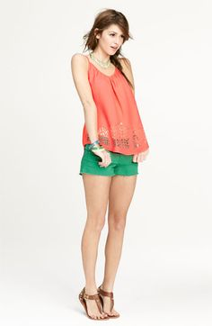Love on a Hanger Camisole & STS Blue Shorts | Nordstrom