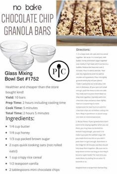 This recipe is SO easy, and works great in our silicone Snack Bar Maker! Pampered Chef Desserts, Pampered Chef Party, Snack Recipes, Dessert Recipes, Cooking Recipes, Bar Recipes, Trifle Desserts, Homemade Granola Bars, Special Recipes