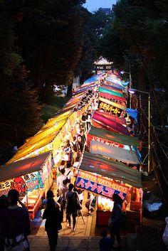 calmek:  渋谷 氷川神社 お祭り by yto on Flickr.