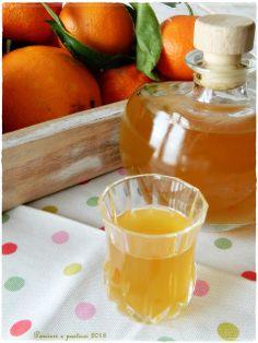 Liquore agli agrumi e tè