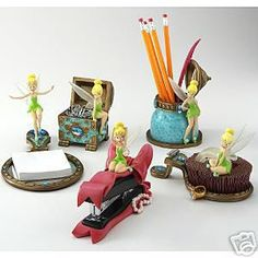 Tinkerbell Desk Set