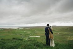 Kym & James travelled from Australia to have a beautiful intimate Iceland Destination Wedding on the Snaefellsnes Penninsula. Iceland Destinations, Dry Sense Of Humor, Basalt Columns, Black Church, London Summer, Country Names, Beautiful Love Stories, Beautiful Wedding Rings, Wedding Story