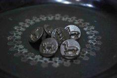 Button 30s40sフランスヴィンテージ動物ボタン15mm5個セットメール便可A ハンドメイド インテリア 雑貨 Handmade ¥2990yen 〆10月27日