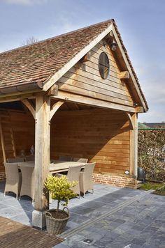 Best Pergola and Pavilion Design Ideas for Your Backyard Backyard Pavilion, Outdoor Pavilion, Backyard Canopy, Garden Buildings, Garden Structures, Outdoor Structures, Yard Service, Bbq Hut, Pavilion Design