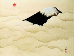 Nihon shinshin (Sacredness of Japan: Mount Fuji) - Yokoyama Taikan (1868-1958)