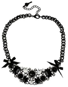 Gem & Crystal Frontal Necklace by Betsey Johnson. Shop the Hudson's Bay at #Scarborough Town Centre.