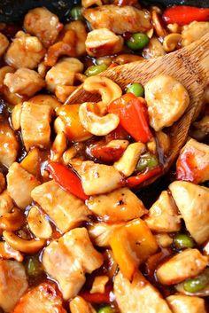 cashew chicken recipe 1 Quick and Easy Cashew Chicken Recipe