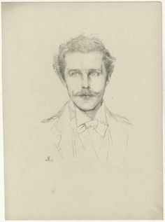 Harry Cust, by the Duchess of Rutland (natural father of Lady Diana Manners)