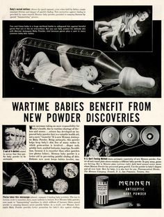 Thanks to weapon technics there's high science in Your baby powder. Bringing out the soldier in Your little ones!