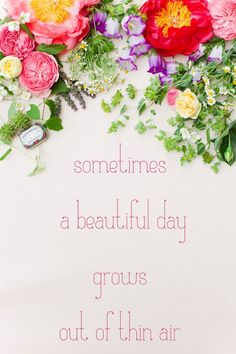 A perfect day Have A Beautiful Day, A Perfect Day, Beautiful Words, Quotes To Live By, Me Quotes, Daily Quotes, Quotable Quotes, Wise Words, Positive Quotes