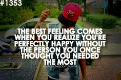 The most amazing feeling.