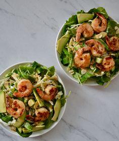 Japanese Spring Shrimp Salad | TUCK & TATE