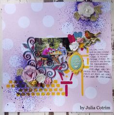 {live laugh love} patterned papers and mdf by Julia Cotrim.