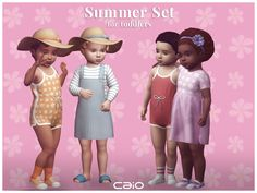 Sims 4 Toddler Clothes, Sims 4 Mods Clothes, Sims 4 Clothing, Sims Mods, Toddler Outfits, Toddler Dress, Sims Cheats, Sims 4 Collections, Sims 4 Children
