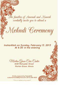 Wording For Mehndi Invitation Google Search Wedding Venues