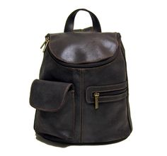 LeDonne Leather Distressed Leather Women's Backpack/Purse