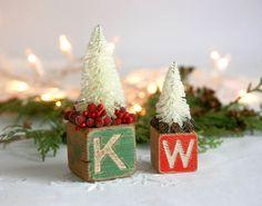 Bottle Brush Tree Christmas Decoration by TheHeirloomShoppe, $20.00