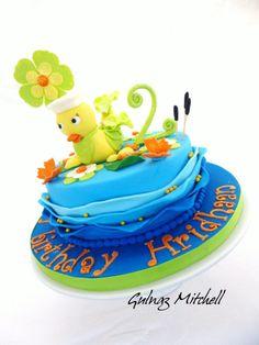 Baby Duck cake