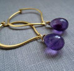 Gold Lotus hoop Earrings, diy earwires
