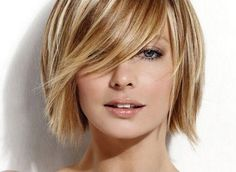 dark blonde.  Love the cut!