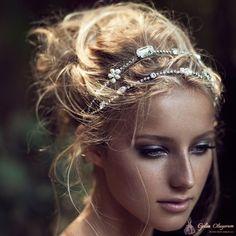Olivia Headpieces Gelin Saçı Aksesuarı - 7