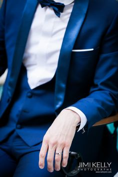 costume mariage homme bleu nuit / + sur withalovelikethat.fr