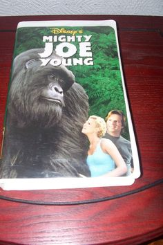 Mighty Joe Young  Disney VHS Movie Action Adventure Rated PG  1999